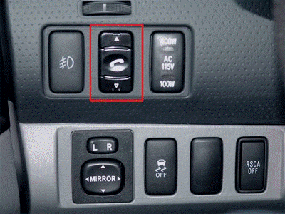 Dash Mounted Switch