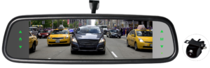 HD Full Screen Rearview Mirror Monitor