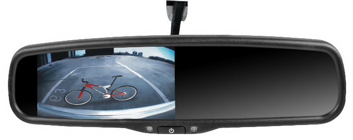 OE Grade Rearview Mirror Monitor