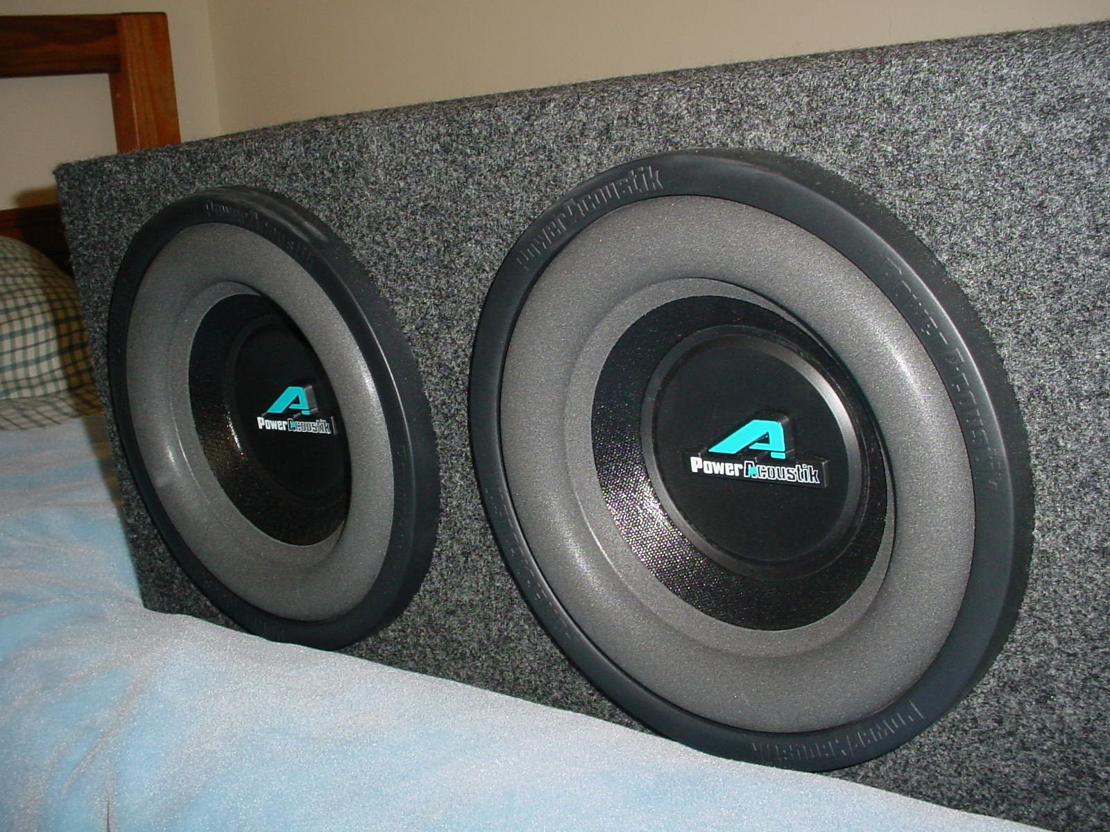 Power Acoustic Subwoofer in enclosure